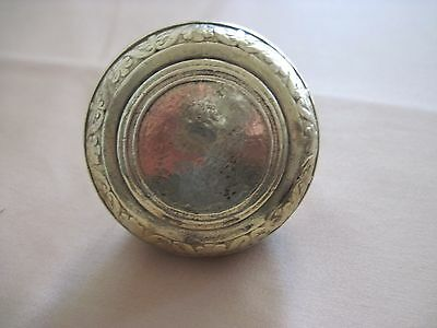 Vintage Antique Brass Ornate Door Knob