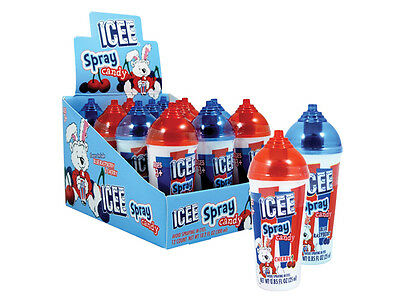 Icee Spray Children's Favor Candy - Cherry or Blue Raspberry
