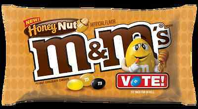 M&M's  Honeynut Packet - New Flavour - Honey Nut   now discontinued M & M's