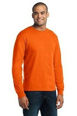 6 New Long Sleeve Made In USA TShirts 3XL Embroidered Free4Ur Business Company