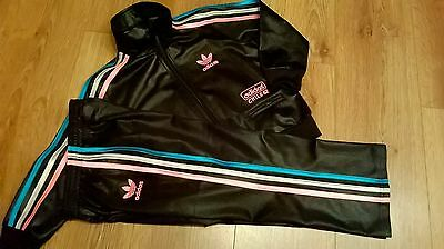 Kids Girls Adidas Chilie 62 Full Tracksuit,size-110 ,age Approx 3Y-5Y,stunner!,