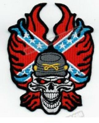 Rebel Skull Motorcycle Patches (5)