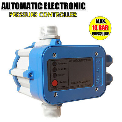 Automatic Water Pump Pressure Controller Electronic Switch Control Outdoor Unit