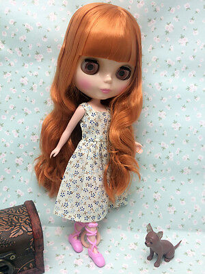 """12/""""Neo Blythe Doll from Factory Transparent skin  Includes Dress/&Shoes J012"""