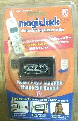 NIP magicJack (USB) PC to Phone Jack VOIP- As Seen On TV