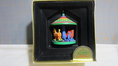 "1978 Hallmark QX1463 ""Antique Toys"" Carousel #1 in the series  Ornament"