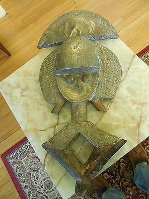 Authentic African MBULU-NGULU RELIQUARY SCULPTURE