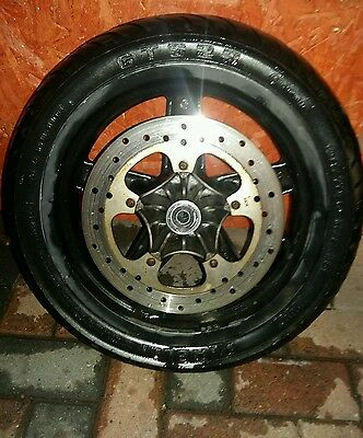 Piaggio X8 front wheel with tyre and disc