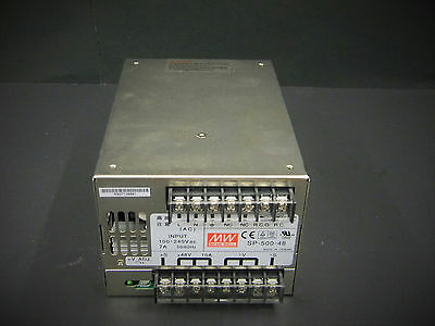 Mean Well SP-500-48 AC-DC Enclosed Switching Power Supply 500W 48V
