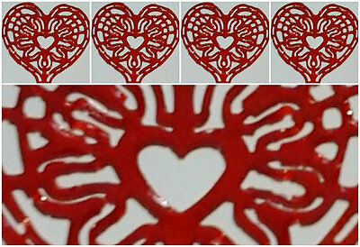 15 x HEART SHAPED DOILIES - WEDDINGS, BIRTHDAY,NEW YEAR, EASTER