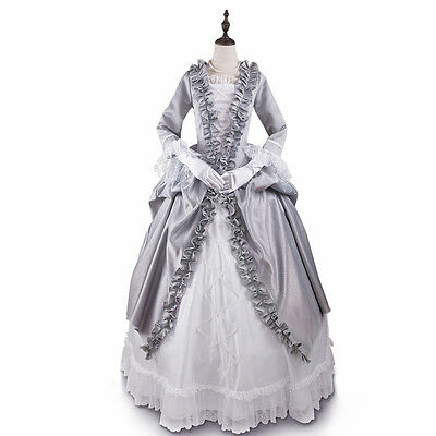Victorian Renaissance Baroness Prom Ball gown Dress Masquerade Steampunk Costume