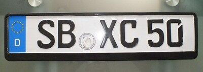 European / German License Plate .holder .tag. Holder Theft Protection New & EUROPEAN. AND German License Plate Holder Tag Holder Theft ...
