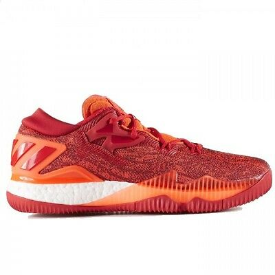 Chaussure de Basketball adidas Crazy Light Boost 2016 Low Solar Red pour Homme