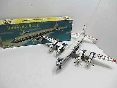 Douglas Dc-7C Seven Seas Airliner With Truning Props Excellent Condition In Box