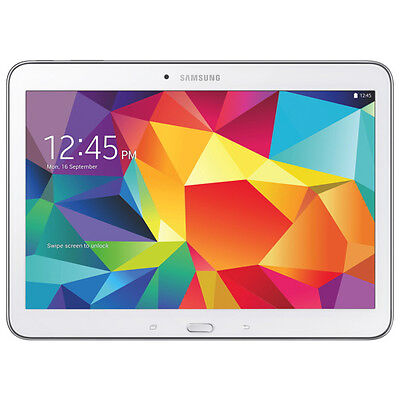 Samsung Galaxy Tab 4 10.1 SM-T530 Android 4.4 KitKat 16GB WiFi Tablet [White]
