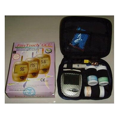 EasyTouch for Glucose Cholesterol Uric Acid 3in1 Monitoring system +Free Lancets