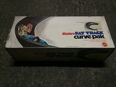 Mattel Hot Wheels Sizzlers Fat Track 180 Steep Banked Curve No 6548