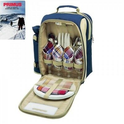 Primus Picnic set 4 person insulated backpack bag  Ready to go