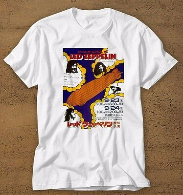led zeppelin classic retro tour concert shirt tee jimmy page robert plant