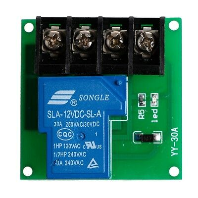 1 Channel  5V/12V/24V Power Relay Control Board Module 30A Single Switch