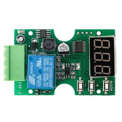 Delay Switch Voltage Circuit Detection Module Relay Load Discharge Protection