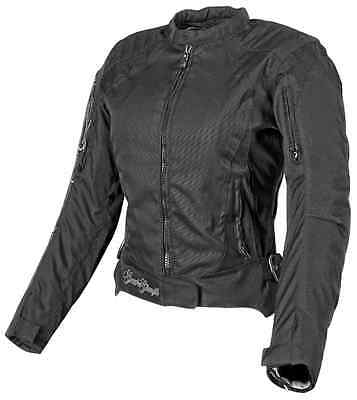 Speed & Strength Heart and Soul Womens Riding Motorcycle Jacket SM 877824 BLK