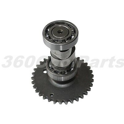 Camshaft Assembly with Drive Sprocket Gear for 50cc GY6 50 139QMB Scooter Moped