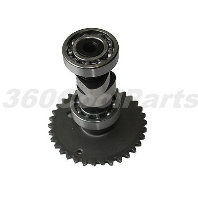 Camshaft Assembly with Sprocket Gear for 150cc GY6 150 Scooter Moped Go Kart ATV