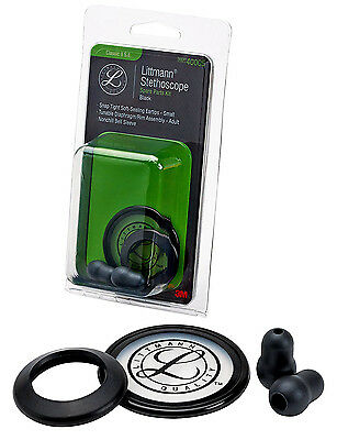 3M 40005 Littmann Stethoscope Spare Parts Kit for Classic II S.E. Black