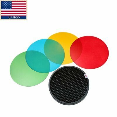 Godox AD-S11 Color Filter Honeycomb Grid Cover Gel Pack for Witstro AD180 AD360