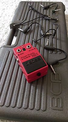 Vintage Boss Pedal Board BCB-6 (1986) incl. Power Supply & Master Switch PSM-5
