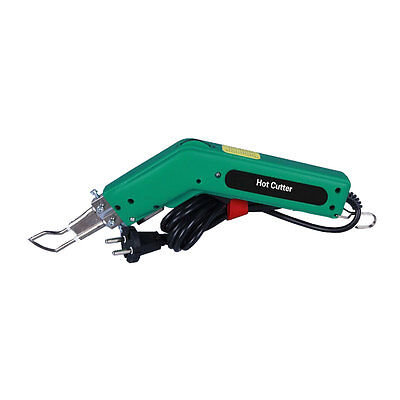 Hand Held Hot Heating Knife Cutter Tool 100W for Cutting Rope and Fabric 110V