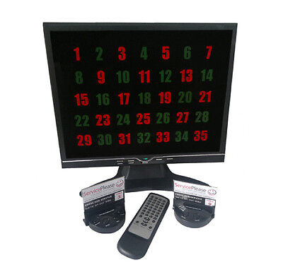 Restaurant/ Hotel Wireless Waiter Call Button System - Normal RRP £1,250.00