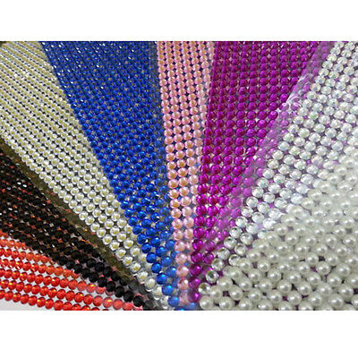 Self-Adhesive Diamante Stick On Acrylic Crystal  For Auto Car Bike Motorcycle