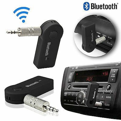 Bluetooth V3.0 Wireless Stereo Audio Music Receiver 3.5mm Handsfree Car AUX MX