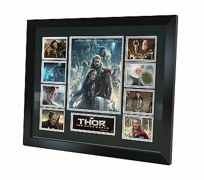 Thor - Chris Hemsworth - Signed Photo Movie Memorabilia Limited Edition Framed