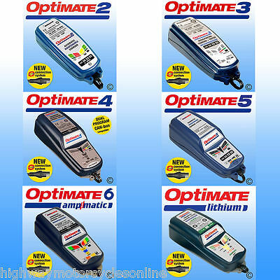 Optimate 2 3 4 Dual 5 6 Lithium Optimiser Battery Charger Ideal Christmas Gift