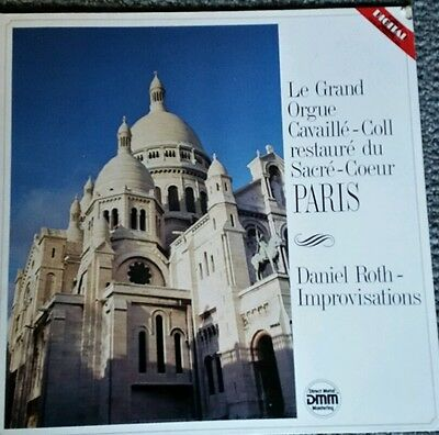 Le Grand  Orgue Cavaille-coll Daniel Roth Improvisatio M10750 stereo WG pressing