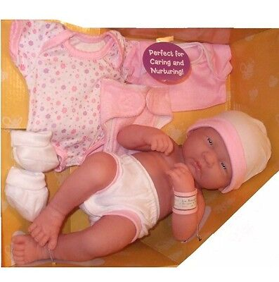 BERENGUER LA Newborn Baby Girl DOLL 4 Reborn real life play Anatomically Correct