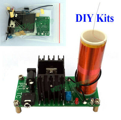 Music Tesla Coil Module Kits Plasma Speaker Arc Ignition Wireless Transmission S
