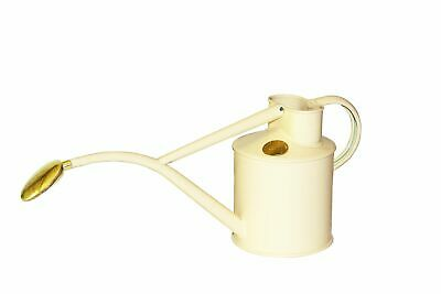Haws      |  Metal Indoor Watering Can in Gift Box 1 Litre - Cream