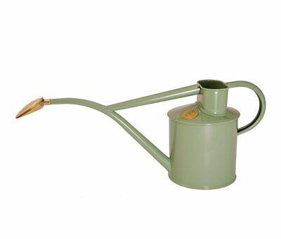 Haws      |  Metal Indoor Watering Can in Gift Box 1 Litre - Sage
