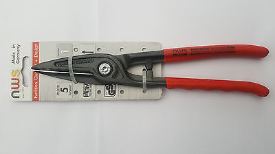 NWS Gilbow Tin Snips 250mm Made In Germany N07812250C