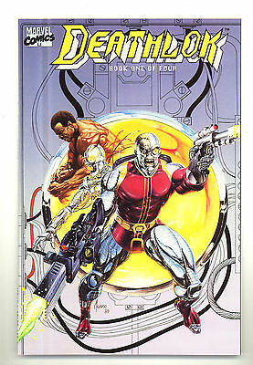 Deathlok #1-4 (1990) complete 4-issue limited series (nm- to nm/mt)