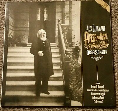 Alex Guilmant pieces for Organ - Bedrich Janacek M1033 stereo WG pressing