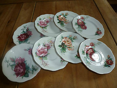 Royal Standard Fine Bone China - Saucers and Side Plates - good condition xx