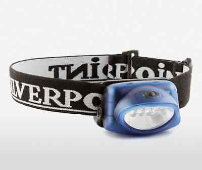 Silverpoint Hunter XL25 Headtorch 5 LED`s 25 Lumens / 25 Metres 45hrs 3 x AAA