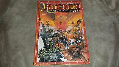 Warhammer Realm of Chaos Slaves to Darkness - 1988 - Hardcover -