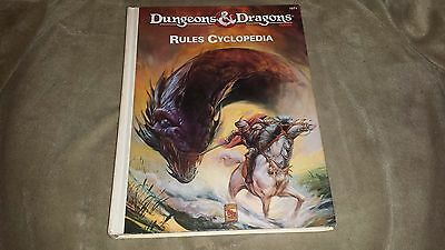 Dungeons and Dragons Rules Cyclopedia - TSR - 1071 - Hardcover - 1991