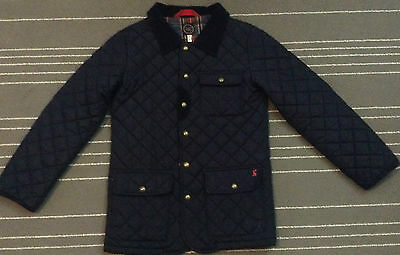 Kids Joules Quilted Winter Jacket Girls Size 9-10 Years